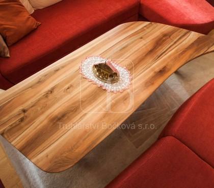 Konferenční stůl ořech